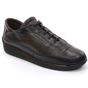 Stuart Weitzman Leather Platform Sneakers size 6